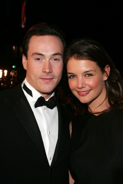 Katie Holmes y Chris Klein hacían una linda y joven pareja.  Mira aquí l...
