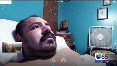 Mujer pide ayuda para reunir a su pareja con su familia en México