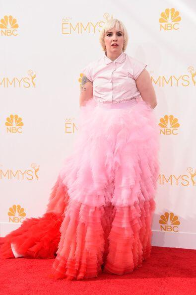"""Lena Dunham, la protagonista y escritora del exitoso show """"Girls"""", nos d..."""