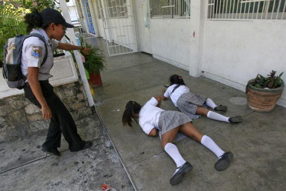 Los entrenamientos han sido tanto en escuelas públicas como privadas. To...