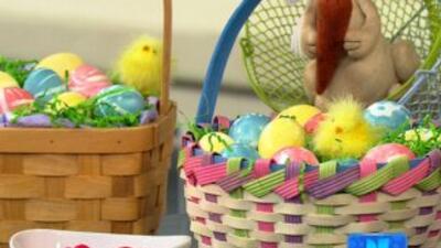 Decora los 'huevitos de Pascua'