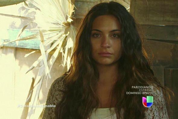 Maricruz recapacita, está dispuesta a convertirse en un Corazón Indomable.