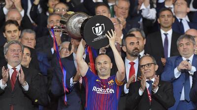 En fotos: Barcelona se coronó campeón de Copa del Rey con goleada 5-0 sobre Sevilla