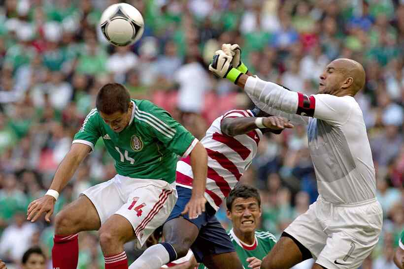 'Chicharito' vs. Howard