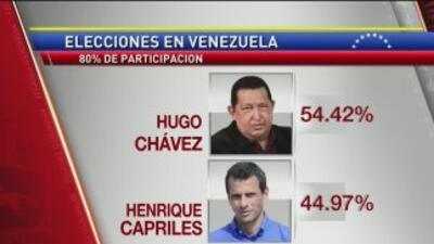 Opositores de Chávez expresan su descontento