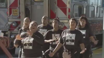 Habitantes del Área de la Bahía conmemoran el día de Martin Luther King con varias manifestaciones
