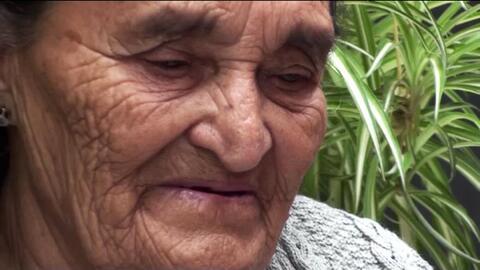 La abuela de Héctor Miguel Garnica habla desde su natal Guanajuato.