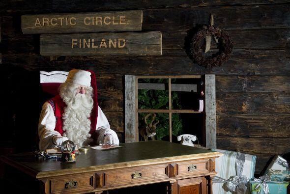 En la localidad finlandesa de Rovaniemi construyeron la casa de Papá Noe...