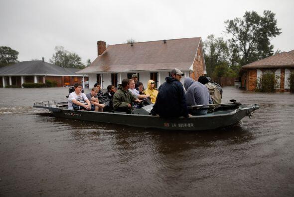 Inundaciones en Louisiana