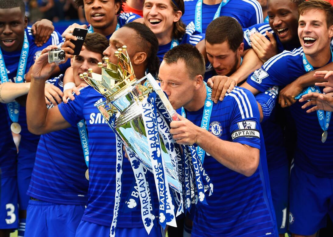 13. Chelsea (2014/2015) - 87 puntos y +41 en diferencia de gol. Fueron c...