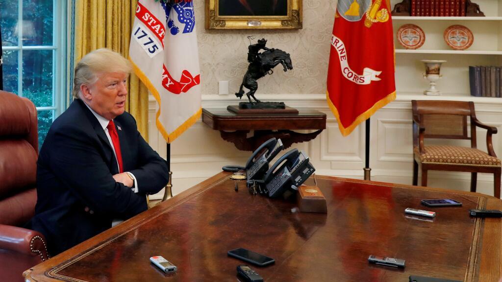 Trump teme que la entrevista con el fiscal del 'Rusiagate' termine siendo una 'trampa' (univision.com)