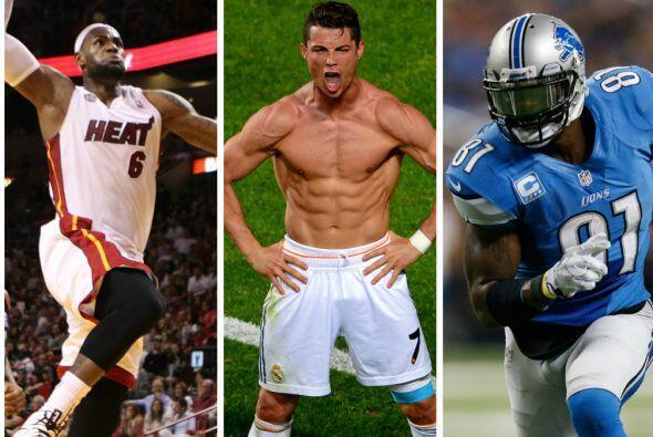 La revista 'Sport Illustrated`publicó una lista de los 50 atletas que es...