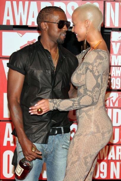La polémica Amber Rose resulta ser la ex novia de Kanye West y también h...