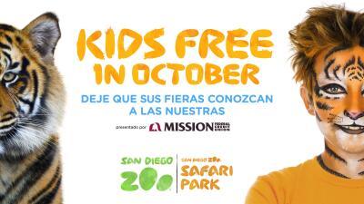SD Zoo October Kids Free