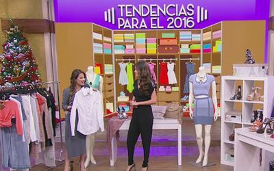¡Todos a la moda con las tendencias para el 2016!