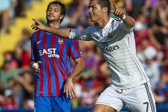 En la jornada 8 de la Liga el Real Madrid visitó al Levante y se...