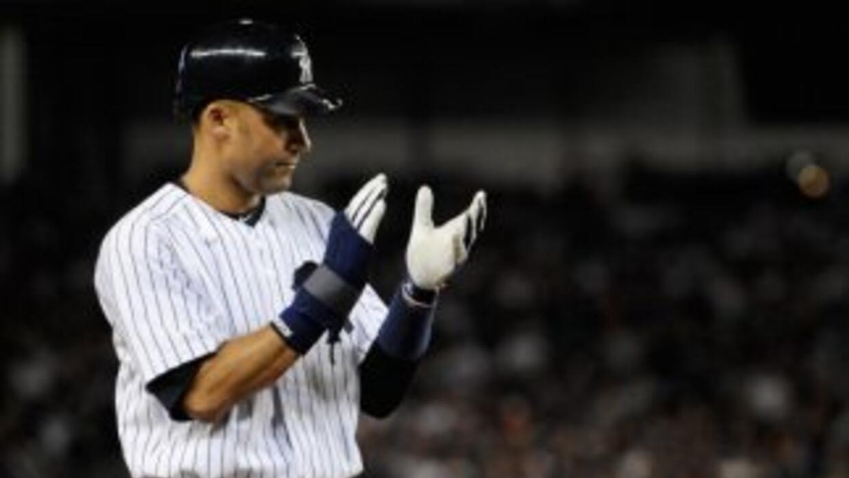 Jeter, de 37 años, se perdió 18 juegos en el 2011 tras lesionarse la pan...