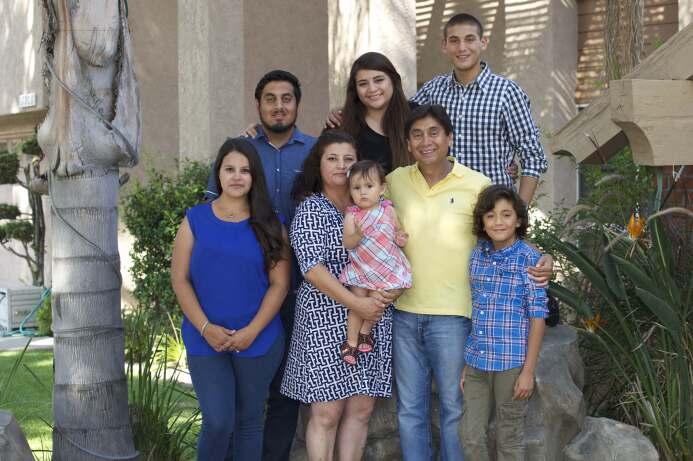 La familia Enciso Rojas.