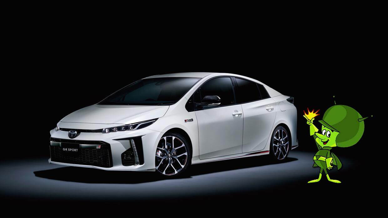 gazoo racing presenta versi n deportiva del toyota prius univision. Black Bedroom Furniture Sets. Home Design Ideas