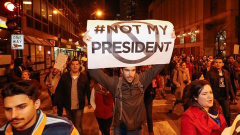 El NYPD informó que hasta ahora son 68 los arrestados en los cuat...