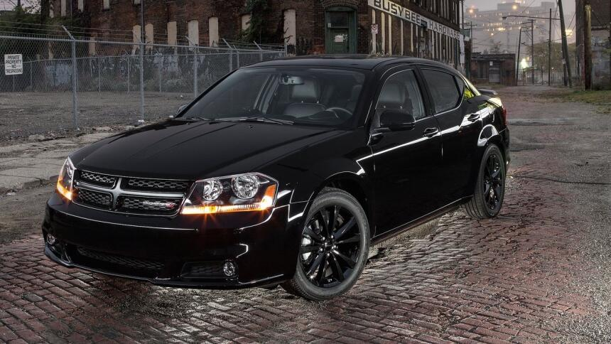 Estos son los autos con el mayor índice de mortalidad en EEUU Dodge-Aven...