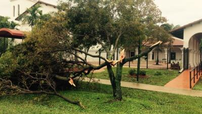 Tornado habría tocado tierra en Delray Beach