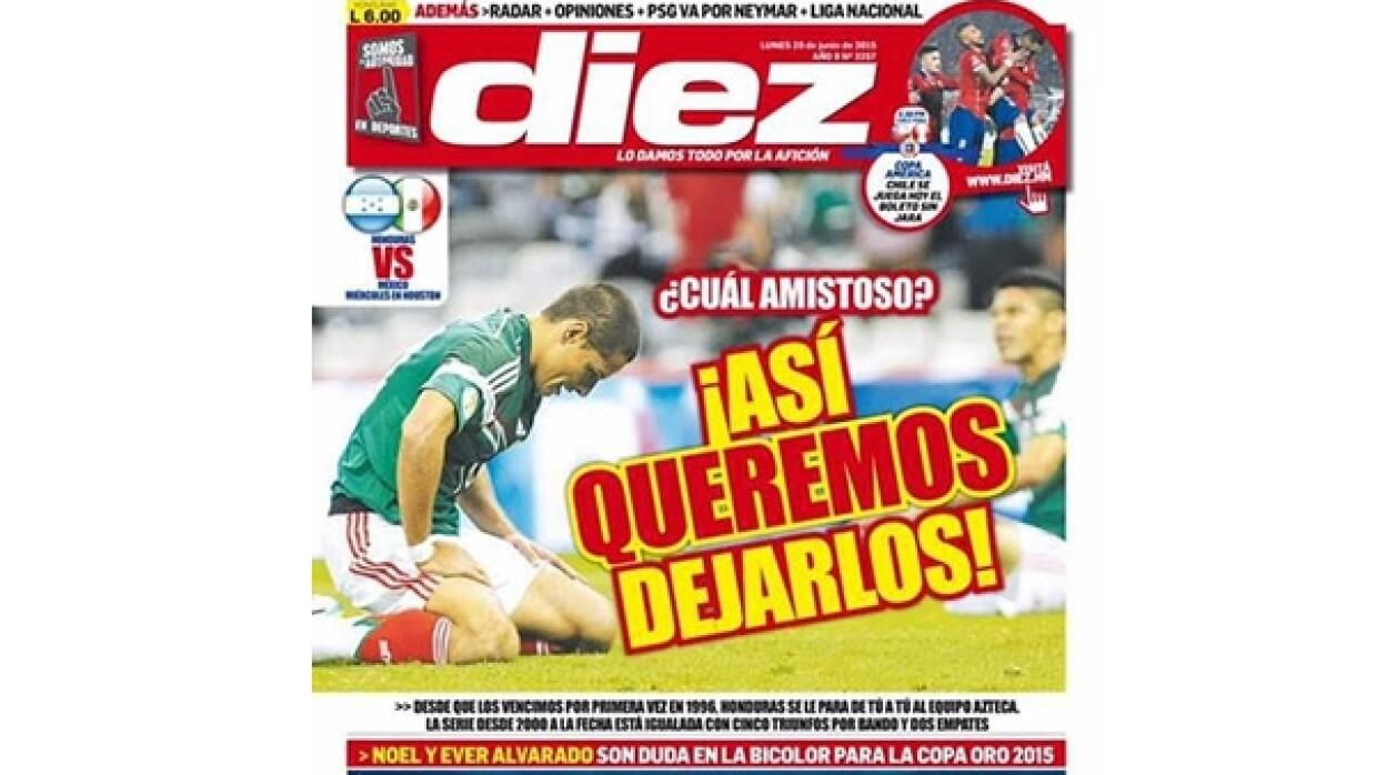 Se calienta el México-Honduras