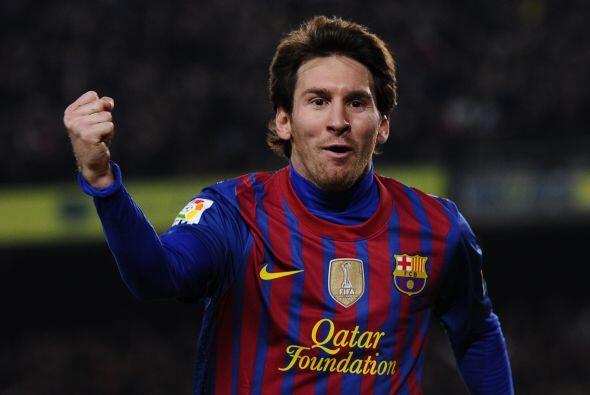 Con sus tres tantos ante el Granada en el Camp Nou, el delantero argenti...