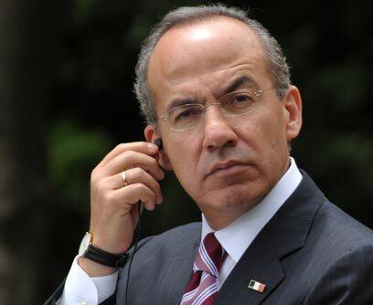 Alfonso Reyes Hinojosa, primo del mandatario mexicano Felilpe Calder&oac...