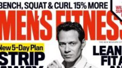 Marc Anthony reveló sus secretos en la revista Men's Fitness. Habló de s...