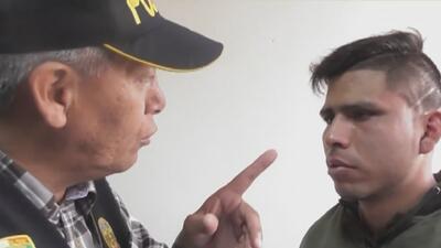 'La Iguana', el comandante de un escuadrón de la policía de Perú que siembra terror entre delincuentes