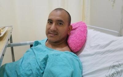 Arturo Narváez se recupera del incidente que tuvo la semana pasad...
