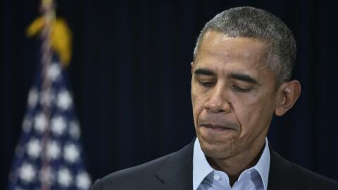 Trasladan cuerpo de magistrado Scalia a funeraria en El Paso obama%20sca...