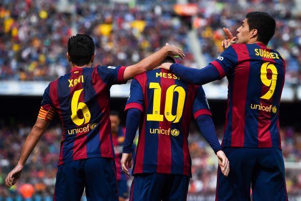Previamente el Barcelona venció 3-1 al Granada a domicilio y Leo...