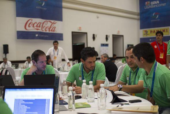 Santos Laguna llegó al draft con la idea de acomodar jugadores, renovar...