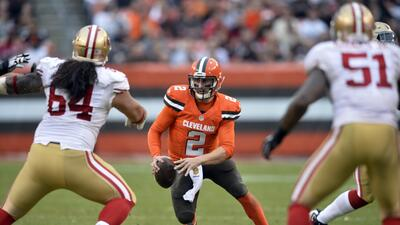 Browns 24-10 49ers: Johnny Manziel regresa como titular y Cleveland gana...