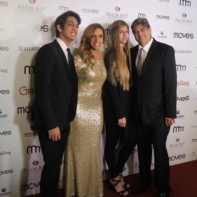 Lili Estefan es una mamá muy orgullosa de sus dos hijos.