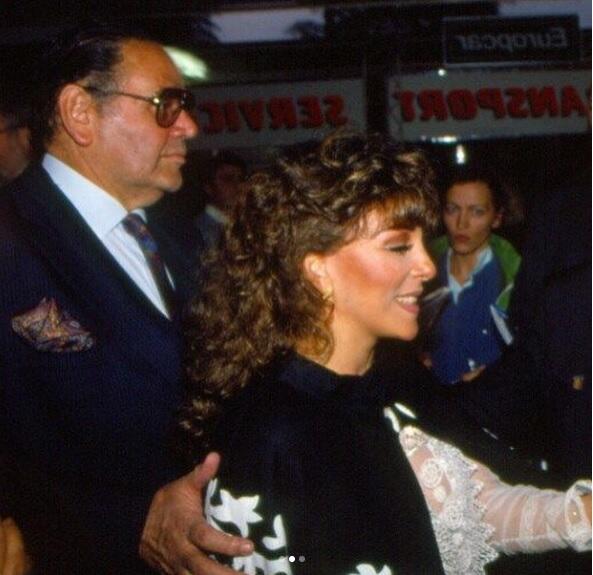 Verónica Castro y Valentín Pimstein