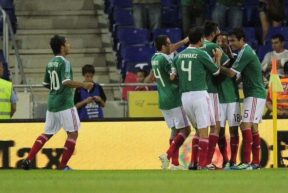 Con un golazo de Guardado, de tiro libre, México ganó 1 a 0 y mantenía s...