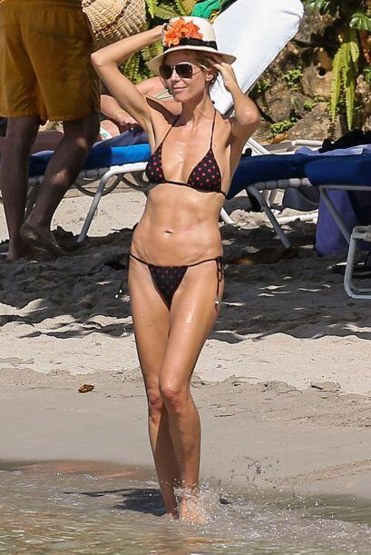 La súper modelo prefirió no asistir al desfile anual de Victoria's Secret.