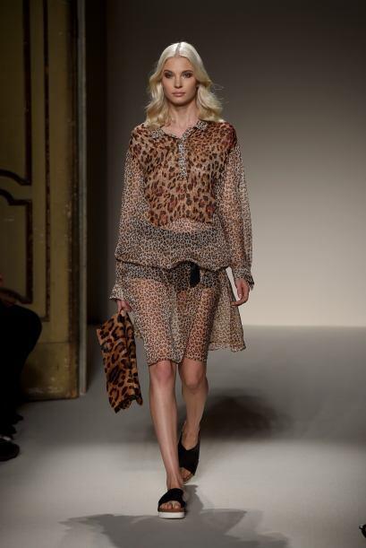 El leopardo es uno de los protagonistas que pretende también brillar en...