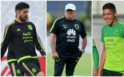 Miguel Herrera dijo que no le pidieron a Oribe Peralta para la Copa Oro,...