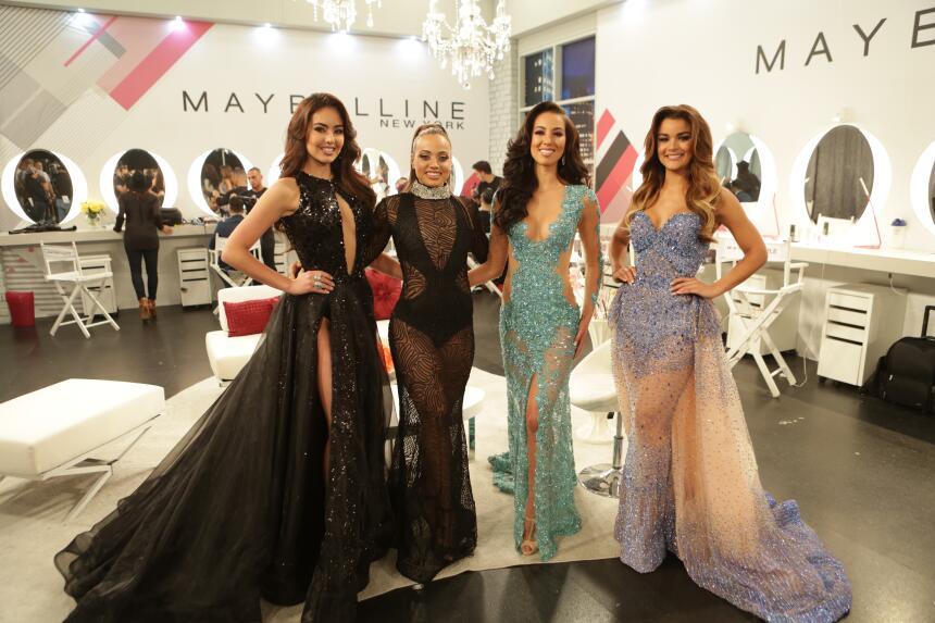 Setareh Khatibi, Bárbara Turbay, Clarissa Molina y Catherine Castro vivi...