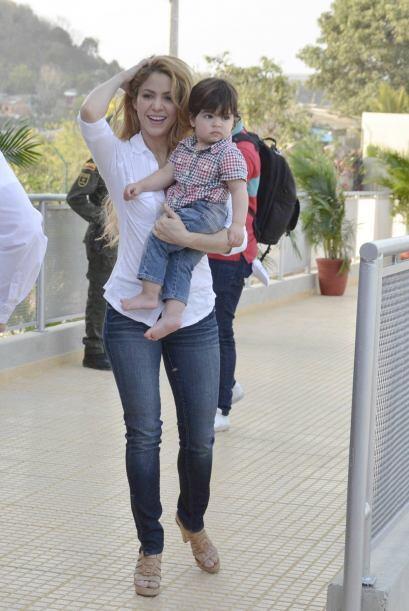 . Shakira conoció el verdadero amor en el 2010 con Gerard Piqué, hace un...