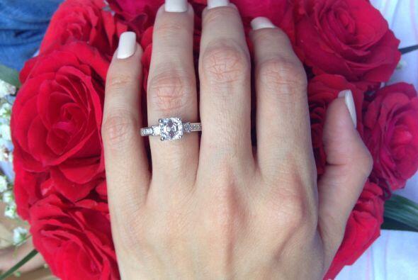 La hermosa joya que Ana Patricia González lleva en su mano.