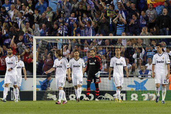 Poco después de la lesión de Varane llegó el gol del Espanyol.
