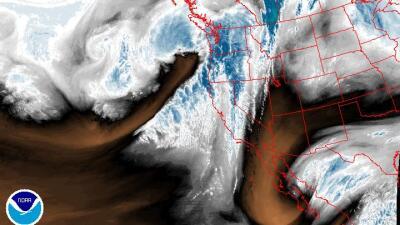 Una nueva ronda de lluvias se aproxima para el estado de California.