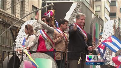 ¡Univision 41 presente en el desfile de la hispanidad!