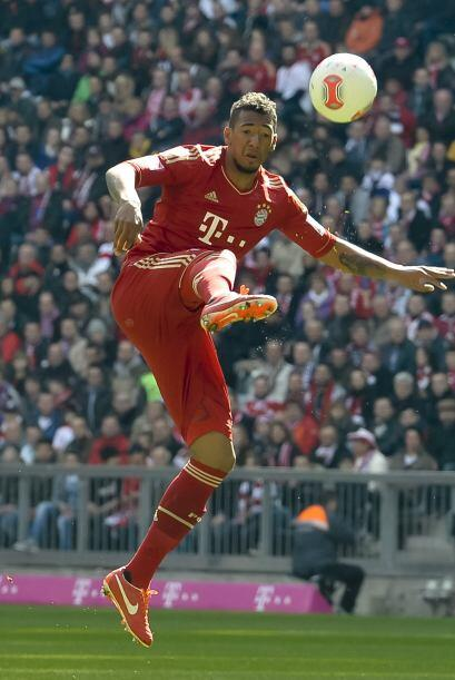 También del Bayern Munich, aparece el lateral alemán Jerome Boateng.