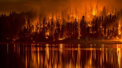 Incendios se propagan en California